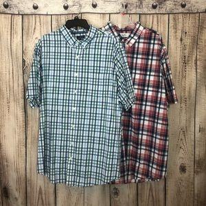 Bundle of 2 NWOT Croft & Barrow Plaid Shirts XXL